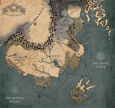 Finished Map of Cinnis by Iam4ever