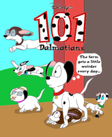 The farm gets weird: 101 Dalmatians fan comic by Trey-Vore