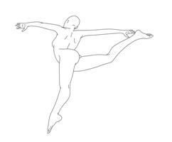 Dancing Pose Female 05 by Death-Tendency