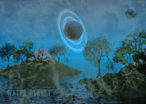 Water Planet by silver-