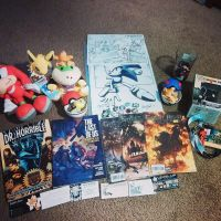 Rose City Comic Con Birthday Haul by Evertooth