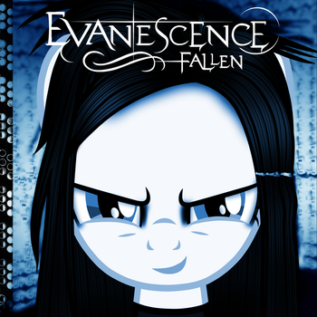 Evanescence (Amy Lee Pony): Fallen by AldoBronyJDC