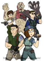 Resident Evil by thelimeofdoom