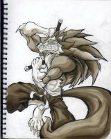 Darkstalker John Talbain by cereal199