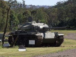 Centurion Tank on display by RedtailFox
