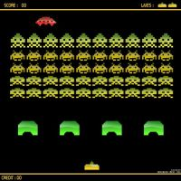 Space invaders by Socrqte