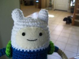 Finn the Human doll! :P by RobotMagpie