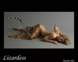 Lizardess by bryden42