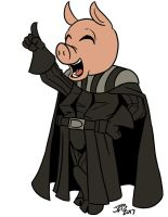 Pig Dude the Pig Ninja! by ProdigyDuck