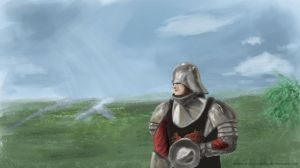 A knight and custom brushes by MateusRocha