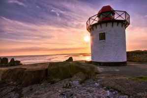 Bury Port Lighthouse by CharmingPhotography