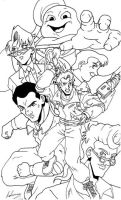 Real Ghostbusters Fan Art 1 by Irie-mangastudios