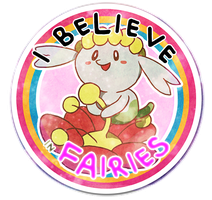 I Believe In Fairies! - Flabebe