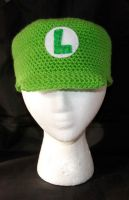 Luigi Cap by rainbowdreamfactory