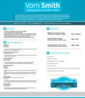 Vorn Smith Resume by JSWoodhams