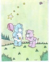 Care  Bears: Tugs and Hugs by fredvegerano