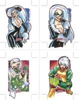 Black Cat and Rogue Dangerous by mainasha