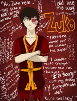 Tribute to Zuko by madymadison