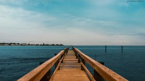 Dock on Cedar Island by StarwaltDesign