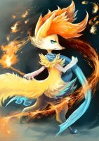eldrige the braixen by eldrige