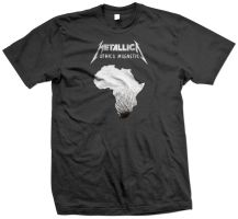Metallica Africa Magnetic by mct2art