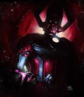 Galactus,the devourer of worlds by Eljay93