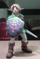 SSBM adult Link papercraft by ninjatoespapercraft