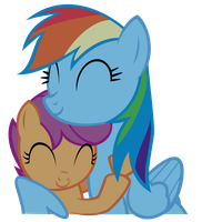 RD and Scoot ~ Shes my BPSFF by 2bitmarksman