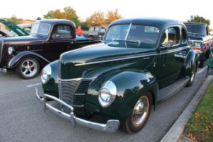 1940 Ford - Foothills mall Oct 2014 by CrystalMarineGallery