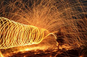 Sparks Experiment 005 by MichaelGBrown