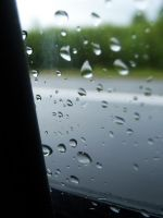 Raindrops on my Window by Stone100