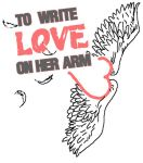 To write love on her arm. by TheNewRevolution