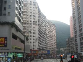 Streets of Hong Kong by trinitycubed