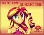 Sunset Sarsaparilla Advertisement [Pre-War] by pshyzo