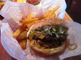 RR Whiskey River Burger by BigMac1212