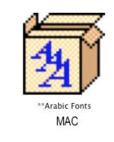Arabic font for ..mac by naderbellal