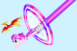 Sonic Rainboom SK Style by Starlight-Shimmer