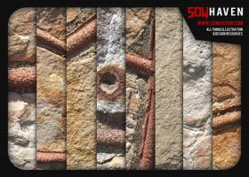 Stone Wall Textures by sdwhaven