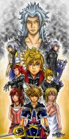 Kingdom Hearts 2 Collage by Rinkuchan27