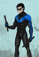Nightwing by MattFriesen