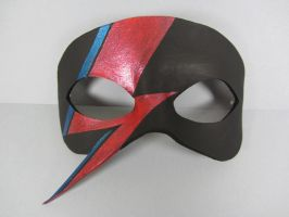 David Bowie inspired mask by maskedzone