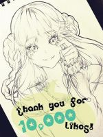 Thank you 10k by corrico
