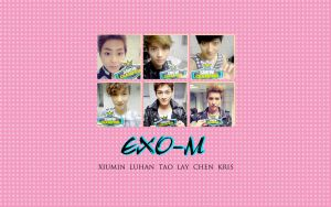 Exo-M Wallpaper by KpopGurl