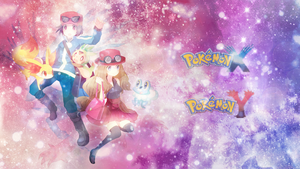 Trainer X and Y Wallpaper by LilianaXLeilani