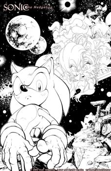 Sonic 126 Archie Frontis by JayAxer