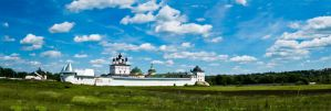 Belopesotsky Monastery panor. by marphey
