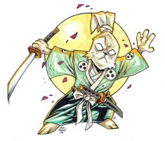 Usagi Yojimbo by illustrated1