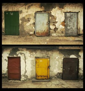 two x three doors by klopmaster