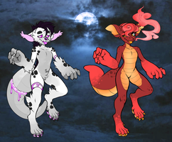= Spoopy Beast Collab Adopts - Auction - CLOSED = by MissionAdopts