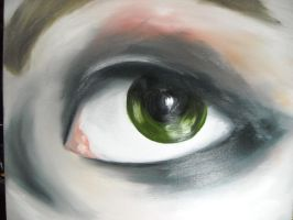 oil eye 2nd attempt by AsatorArise